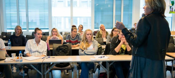 Under 100 studenter møtte på allmøtene
