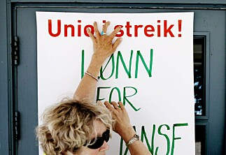 Streikefaren er over