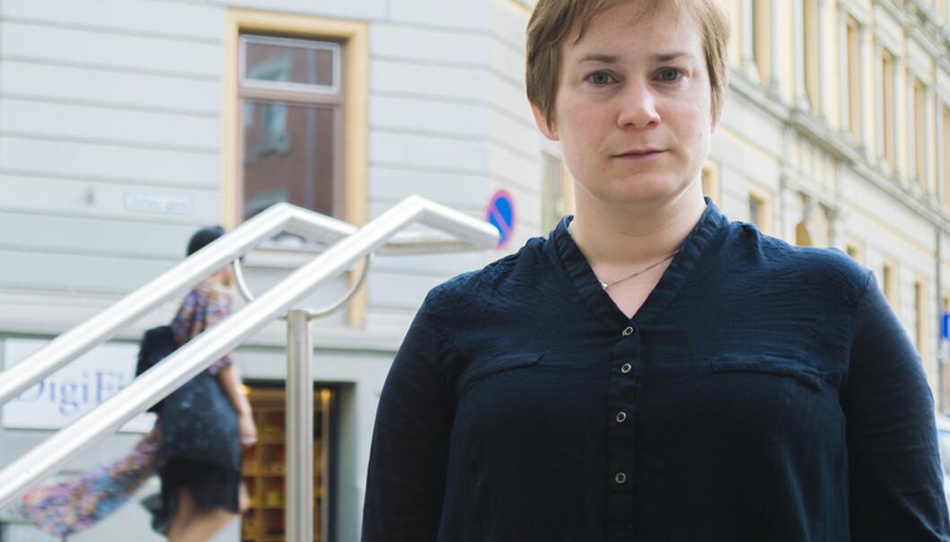 Ida Drange er ein av fem unge forskarar som fekk støtte frå Forskingsrådet i april i år. Foto: Tommy AlvestadWiik