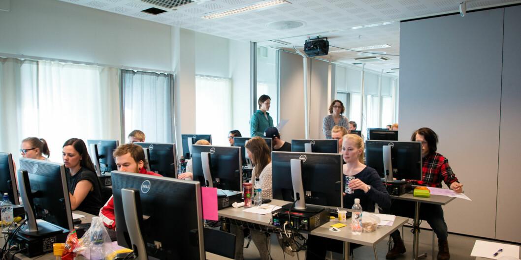 Digital eksamen på Øk. adm.