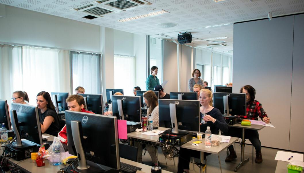 Studenter ved HiOA er ikke sikret å få vurdert sin eksamensbesvarelse av tosensorer. Foto: Skjalg Bøhmer Vold