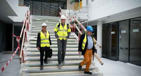 Prøver ut nye løsninger på studiested Sandvika