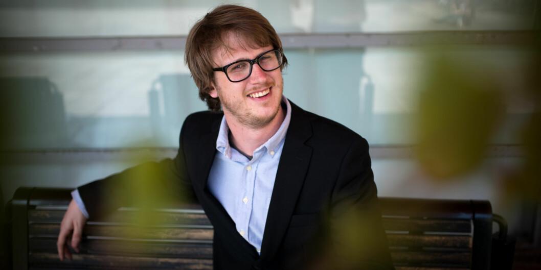 Studentleder Tord Øverland ved HiOA ønsker en endring av dagens lederstruktur vedhøgskolen. Foto: Skjalg Bøhmer Vold