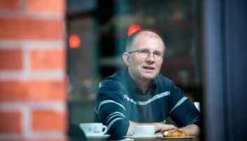 Professor i universitetshistorie ved OsloMet, Fredrik Thue. Foto: Skjalg Bøhmer Vold