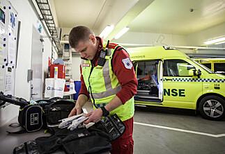 Full klaff for ny utdanning for personell på ambulanser