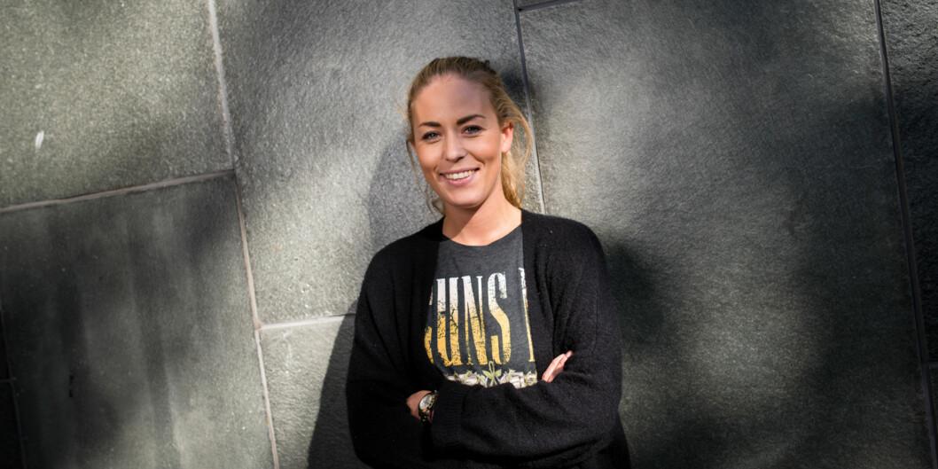"""Therese Eia Lerøen (23) fra Høgskolen i Oslo og Akershus (HiOA) ble lørdag valgt til toppverv i Norsk studentorganisajon (<span class=""""caps"""">NSO</span>). Foto: Skjalg Bøhmer Vold"""