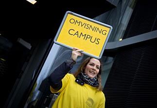 Over 1000 skoleelever på høgskolebesøk