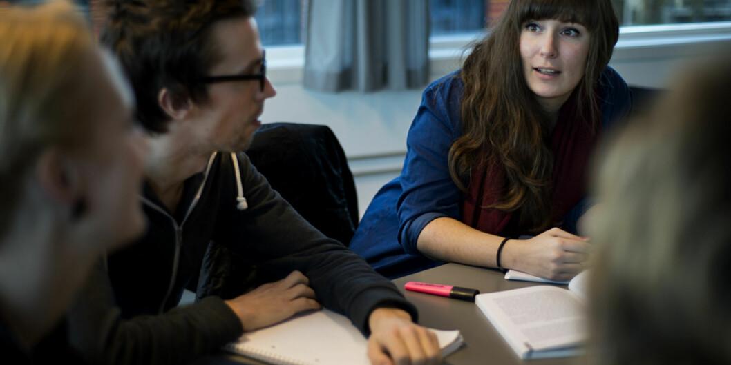 Kulturledelse er ett av studiene på Institutt for økonomi og administrasjon som har høy andel kvinneligestudenter. Foto: Benjamin A. Ward/HIOA