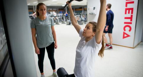 Sponser trening for studenter med èn million kroner