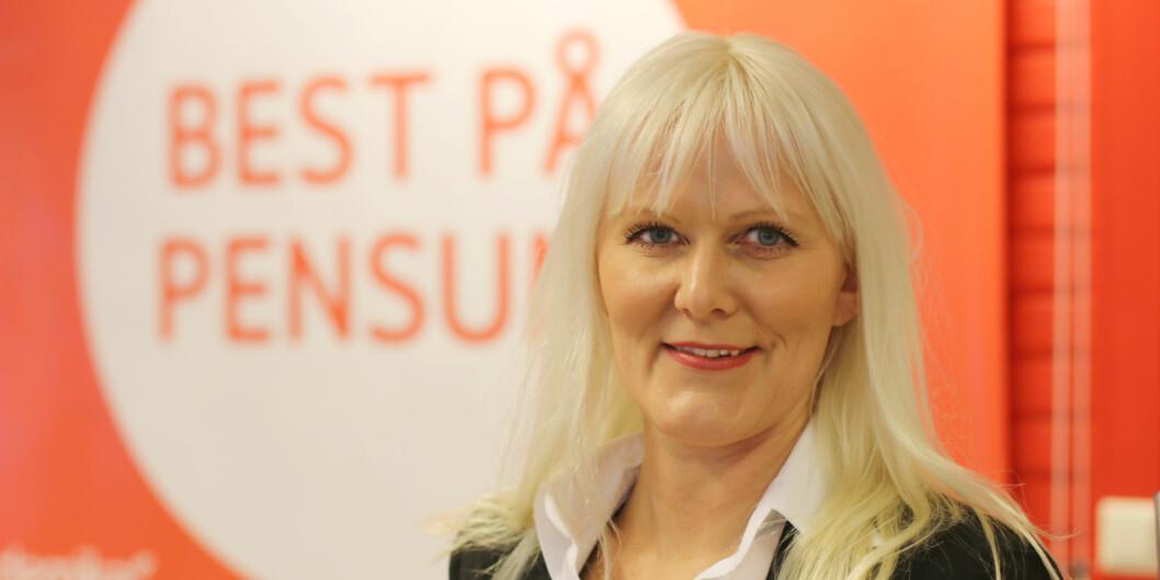 Kirsti Hansen tiltrådte i januar stillingen som administrerende direktør i Akademika som de siste årene har gått med store økonomiskeunderskudd. Foto: Akademika