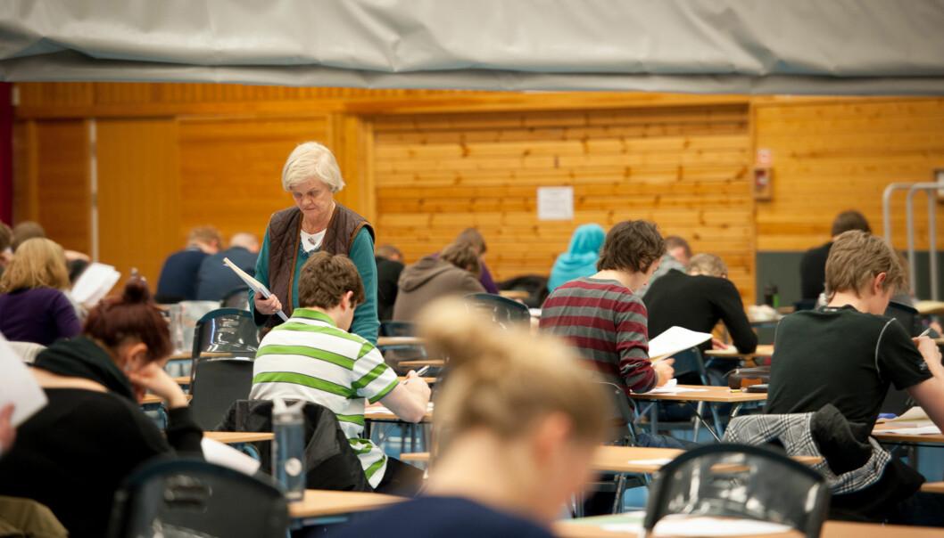 Det ble bedt om begrunnelse for nærmere 4000 eksamenskarakterer på Høgskolen i Oslo og Akershus ifjor. Foto: Skjalg Bøhmer Vold