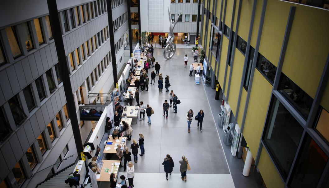 Det vil være bedre både for studentene og Lillestrøm by om høgskolen lå i sentrum heller enn som her, på Kjeller, mener ordfører i Skedsmo som nå jobber med å tilby attraktiv lokalisering for HiOA iLillestrøm. Foto: HiOA