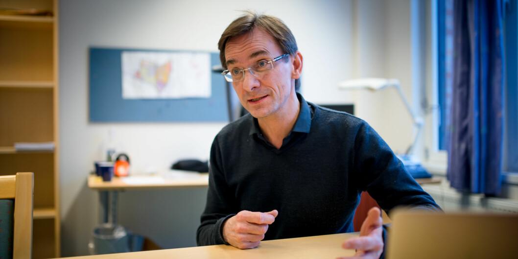 Christen Krogh sluttet som forskningsdirektør 15. januar. Kari Kjenndalen er konsitutert som nydirektør. Foto: Skjalg Bøhmer Vold