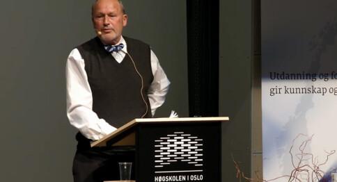 Ønsket mindre feighet og mer ulydighet i akademia