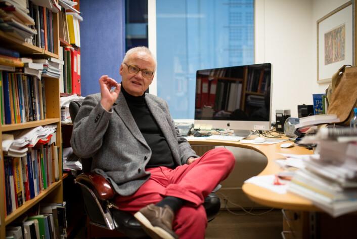 Professor Åge Garnes. Foto: Skjalg Bøhmer Vold