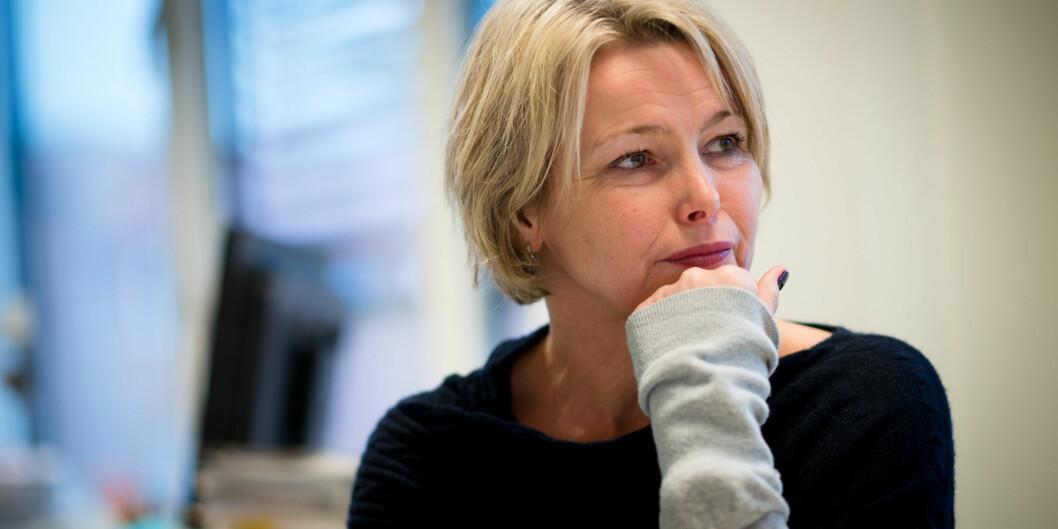 Etter krav fra fagforeningene ved høgskolen fikk rektor Kari Toverud Jensen vel 150.000 kroner i lønnsøkning rett førjul. Foto: Skjalg Bøhmer Vold