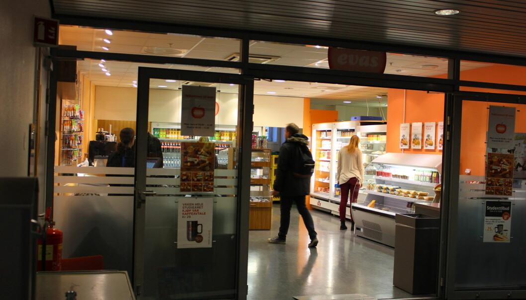 Kafe Eva er populær blant studentene i Pilestredet48. Foto: Henriette Bøe Nilsen