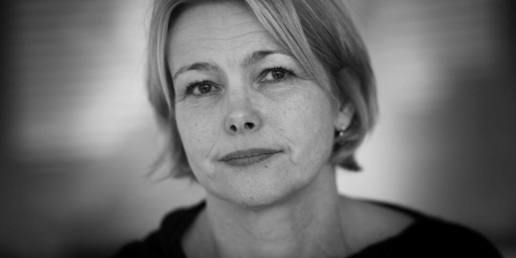 """Rektor for HiOA, Kari Toverud Jensen, trekker fram til realiseringen av det nye Senteret for velferds- og arbeidslivforskning (<span class=""""caps"""">SVA</span>) som en av de viktigste enkeltsakene for høgskolen i2014. Foto: Skjalg Bøhmer Vold"""