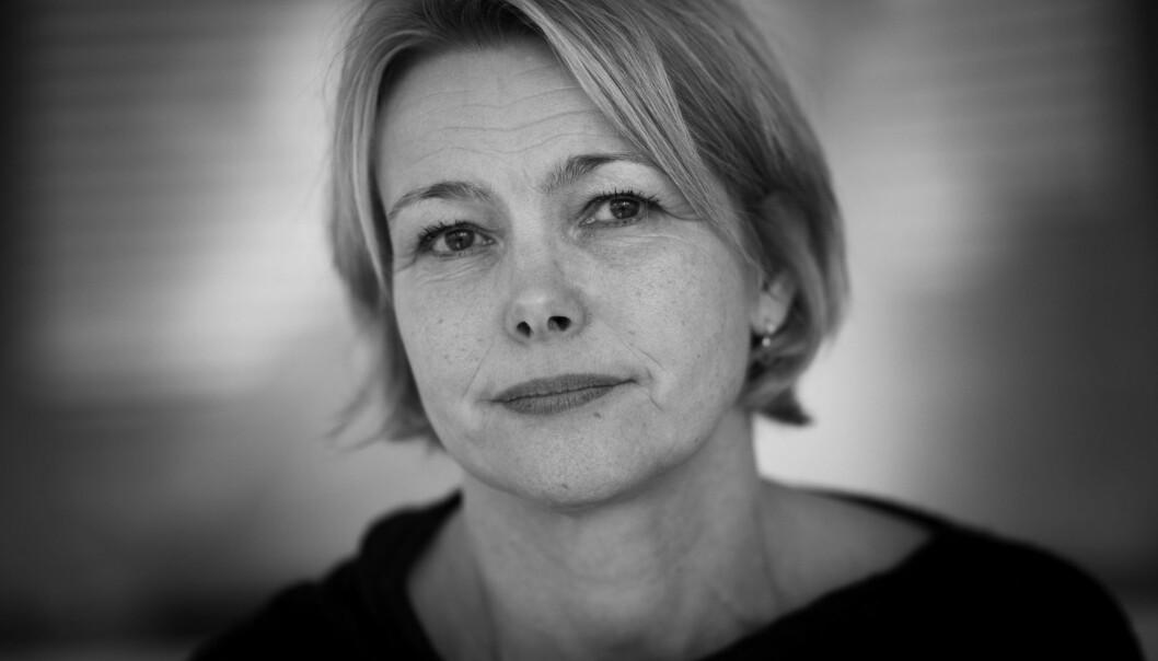 Rektor for HiOA, Kari Toverud Jensen, trekker fram til realiseringen av det nye Senteret for velferds- og arbeidslivforskning (SVA) som en av de viktigste enkeltsakene for høgskolen i2014. Foto: Skjalg Bøhmer Vold