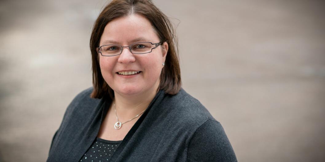 Vibeke Bjarnø er en av de tre som mandag fikk beskjed om at de tilbys jobbene som instituttledere ved Fakultet for lærerutdanning og internasjonale studier. Foto: Skjalg Bøhmer Vold