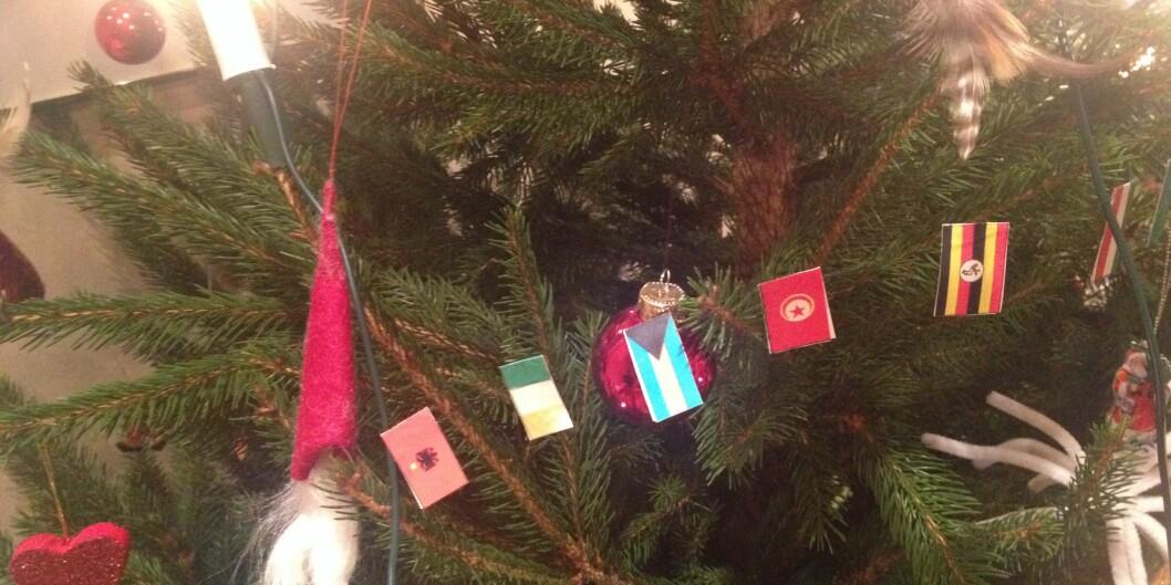 Snart jul i hele verden, men førstadventsquiz. Foto: Tove Lie