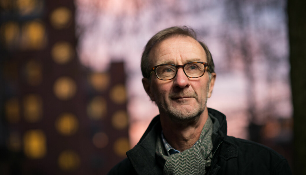 Dekan Knut Patrick Hanevik på Høgskolen i Oslo og Akershus vurderer å slutte å sende studenter tilUganda. Foto: Skjalg Bøhmer Vold