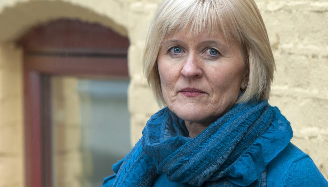 Unio-leder Ragnhild Lied er fornøyd med at medlemmene hennes stemte ja til ny offentlig pensjonsavtale. Foto: Utdanningsforbundet