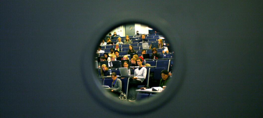 «De vitenskapelig ansattes kvalitetsvurderinger står delvis i kontrast til studentenes vurderinger»
