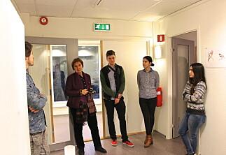 Utvekslingsstudenter med egen utstilling