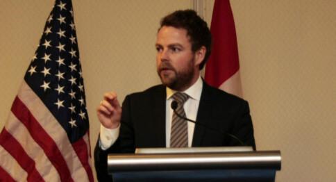 Diskuterte den digitale framtiden i Washington