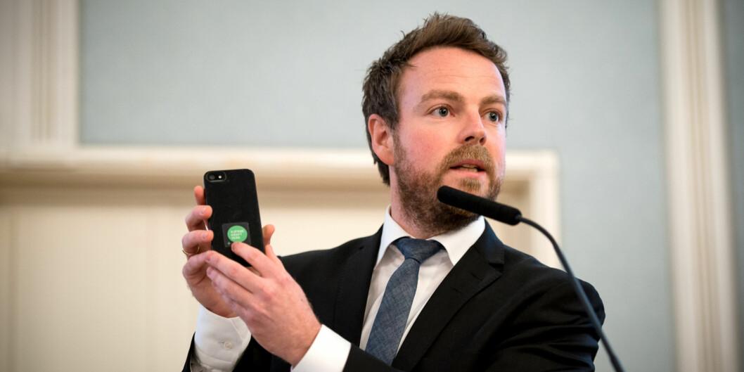 Næringsminister Torbjørn Røe Isaksen får tre råd fra OsloMet-topper når han skal se på virkemiddelapparatet for bedre innovasjon. Foto: Skjalg Bøhmer Vold
