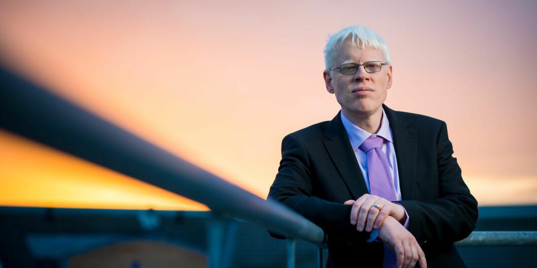 Frode Eika Sandnes mener de nye tellekantene øker forskjellene blantinstitusjonene. Foto: Skjalg Bøhmer Vold