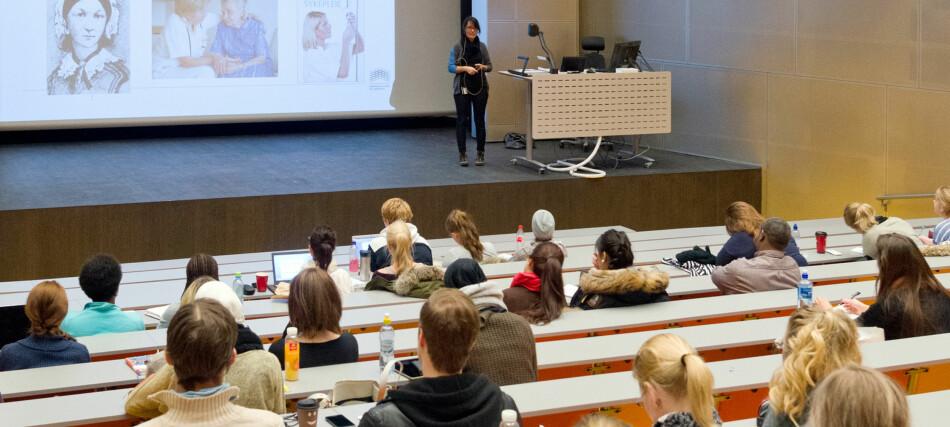 Thor Neby er skuffet over at OsloMet ikke vil merittere sine universitetslektorer innen undervisning. Foto: HiOA/OsloMet