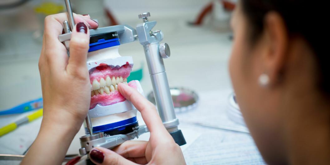 Tannlegestudenter kan måtte komme til å jobbe for noen som er fratatt retten til åforske