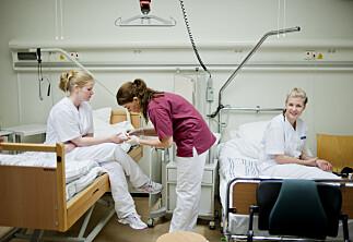 Vil fusjonere sykepleierne