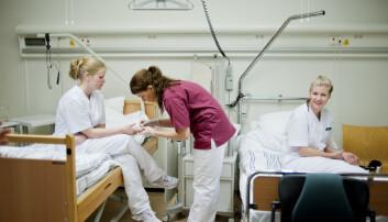 Høy strykprosent blant studenter på sykepleie