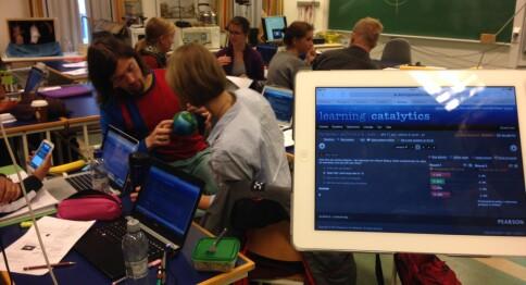 Lager prøverom for digital undervisning