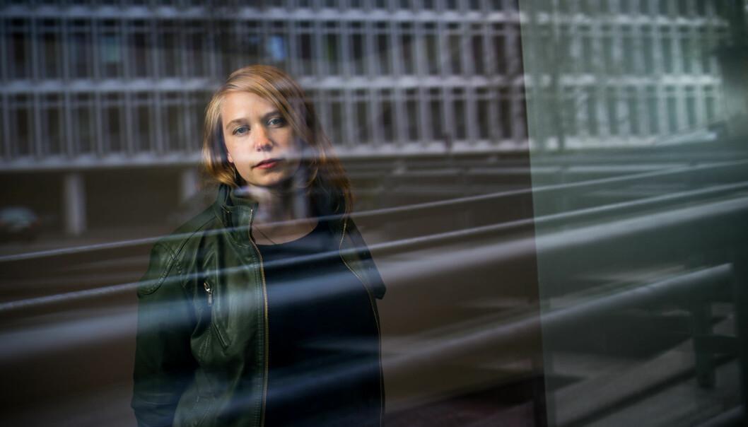 Studentparlamentets leder, Eline Stølan, er ikke fornøyd med at Velferdstinget ikke vil innvilge hele parlamentetsbudsjettsøknad. Foto: Skjalg Bøhmer Vold