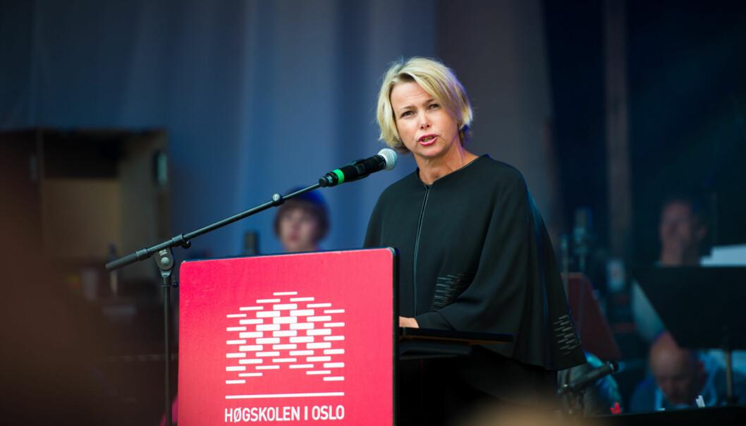 Rektor Kari Toverud Jensen har stor tro på synergier hvis søknaden om at AFI og NOVA skal bli en del av høgskolen blir godkjent avdepartementet.