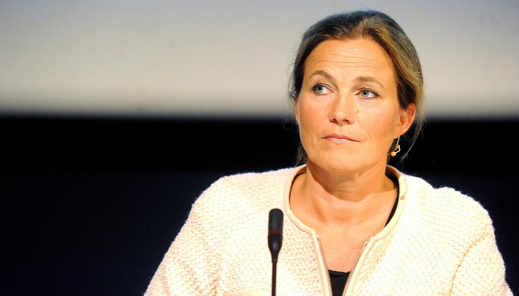 Varslinsgnemnda ved HiOA, ledet av leder for 22.juli-kommisjonen, advokat Alexandra Bech Gjørv, mener at høgskolen har opptrådt kritikkverdig på flere punkter og ber høgskoledirektøren rette opp feilene og innføre tiltak for å hindre lignendesaker. Foto: Siri Juell Rasmussen