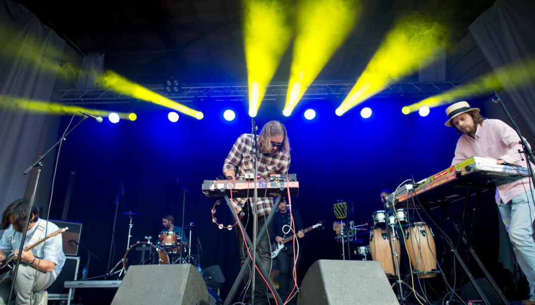 Casio Kids sto for årets kveldskonsert førstestudiedag. Foto: Skjalg Bøhmer Vold