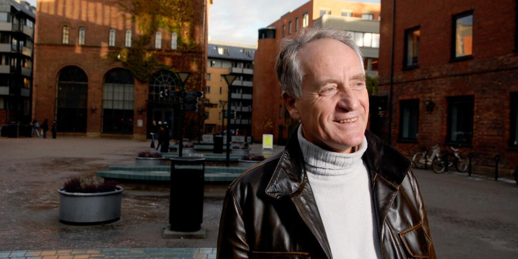 Professor Rune Slagstad kommer med både profesjonshistorier og skjulte strateger nesteår. Foto: HiOA