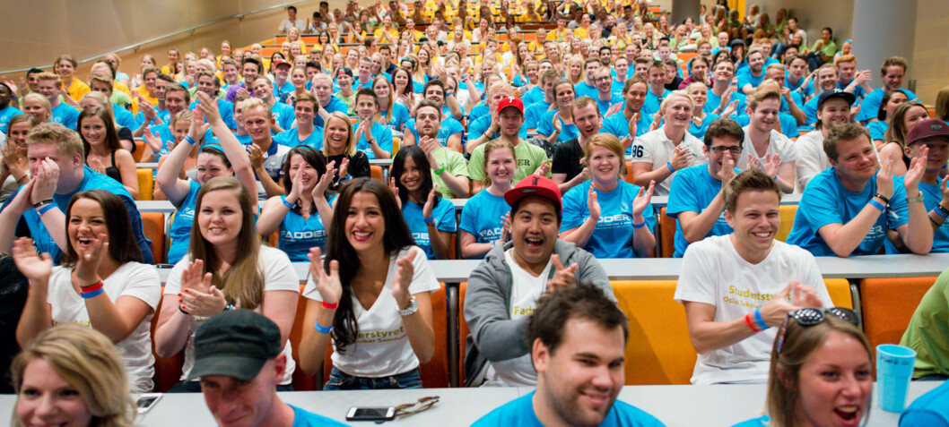 900 faddere i arbeid for nye studenter