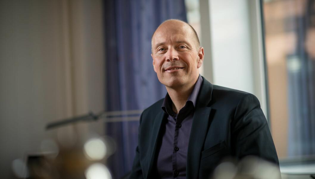 Torbjørn Larsen og resten av valgstyret bestemte torsdag ettermiddag at det blir nytt valg for deler av de ansatte påHiOA. Foto: Skjalg Bøhmer Vold