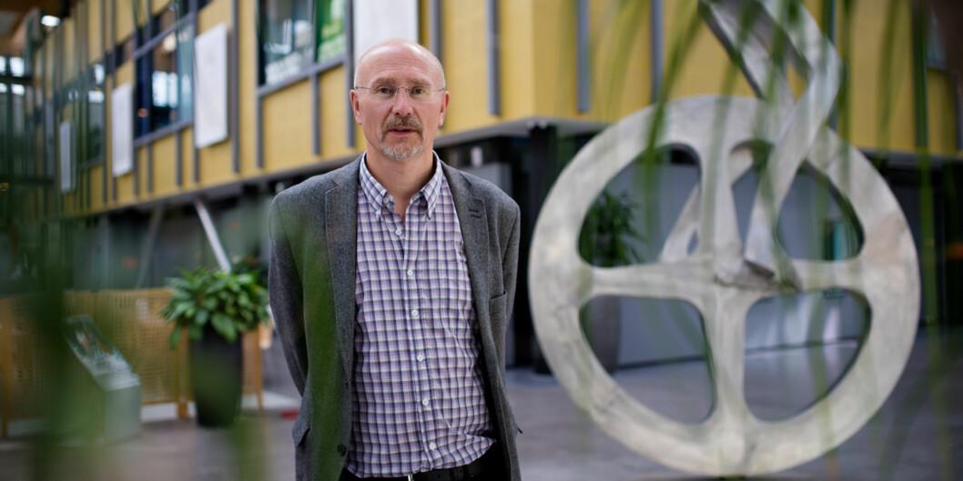 Ifølge studieleder Knut Boge går studenter ved den nye utdanningen i Facility Management en lys jobb-framtid imøte. Foto: Skjalg Bøhmer Vold