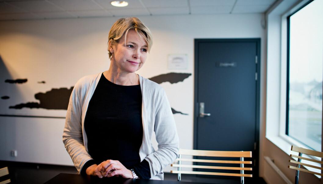 Rektor Kari Toverud Jensen sier hun opplever det som positivt at departementet i sin årlige tilbakemelding har kritiske merknader til de samme områder som høgskolen selv har lagt vektpå. Foto: Skjalg Bøhmer Vold