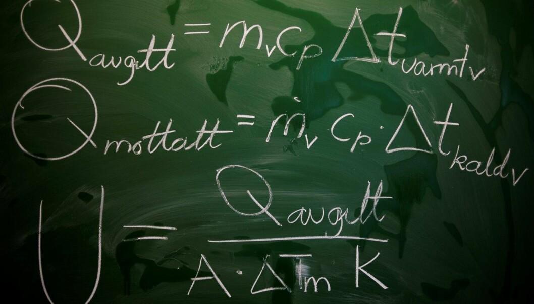 Sivilingeniør- og siviløkonomstudenter gjør det best i årets test fra Norsk matematikkråd. Økonomistudenter og lærerstudenter gjør det dårligst. Illustrasjonsfoto: OsloMet