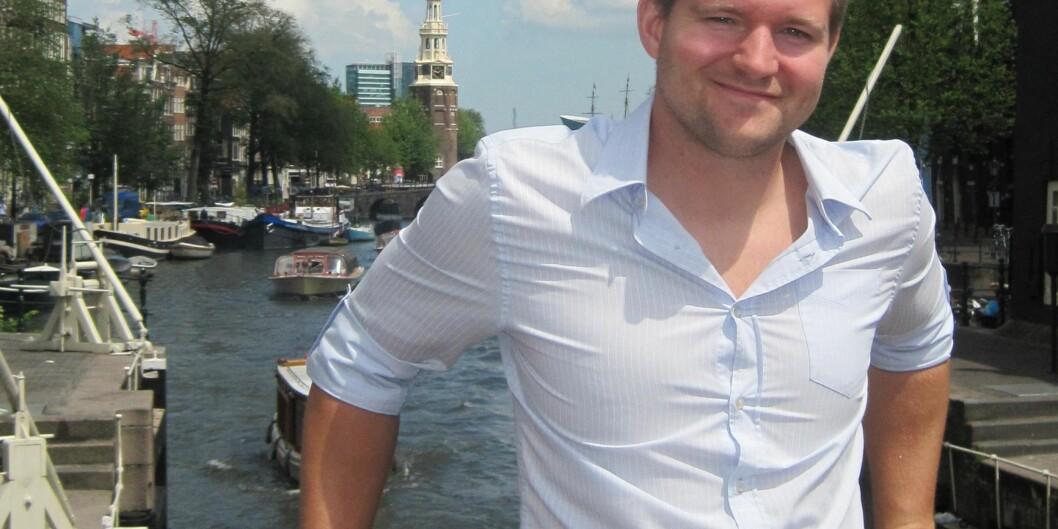 Tidligere HiOA-student og stipendiat Alexander Arvei Yngling gjør ferdig doktorgraden sin i Stockholm og mener han har funnet løsningen på utfordringene knyttet til digitaleeksamener. Foto: Privat