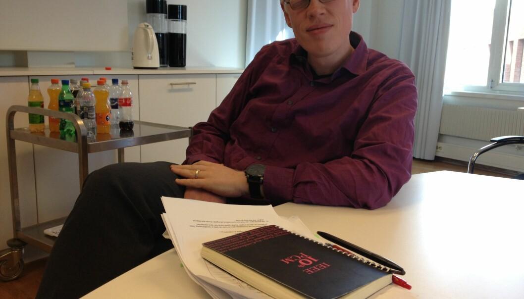 Prorektor for forskning på Høgskolen i Oslo og Akershus (HiOA) Frode EikaSandnes. Foto: Tove Lie