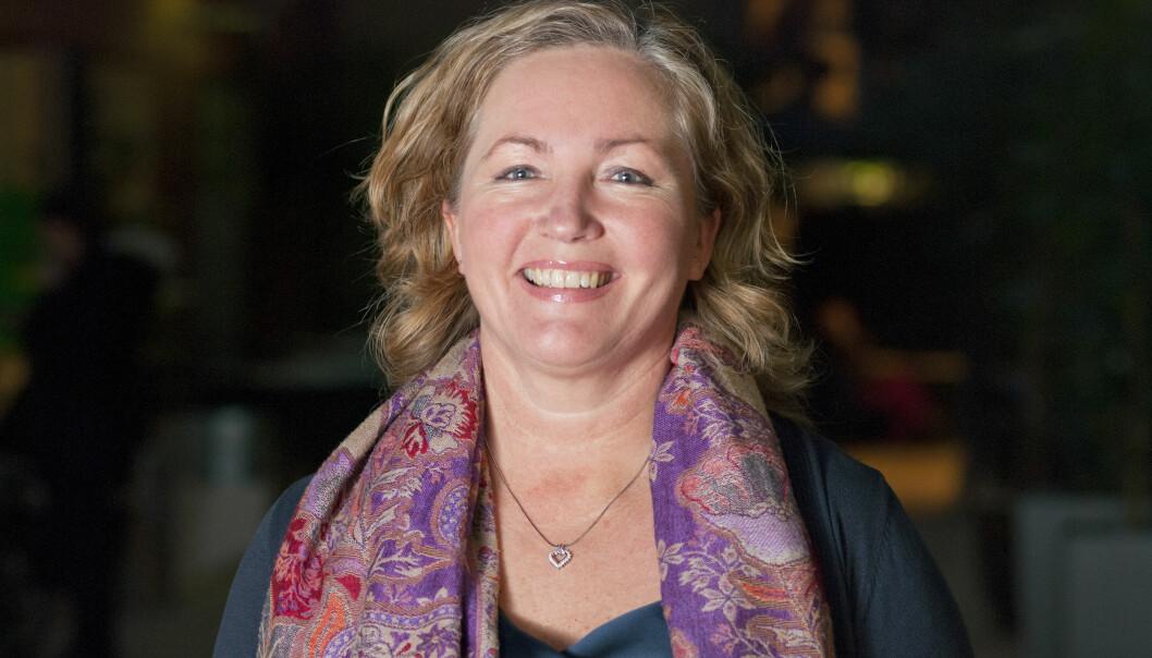Ann Elisabeth Wedø er ansatt som adm.dir i Sykehusbygg, med hovedkontor i hjembyenTrondheim. Foto: Sonja Balci/HiOA